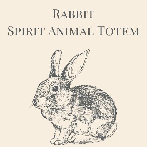 Rabbit Spirit Animal Totem