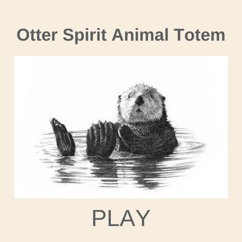Otter Spirit Animal Totem-2