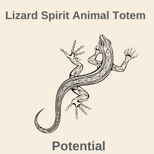 Lizard Spirit Animal Totem-2
