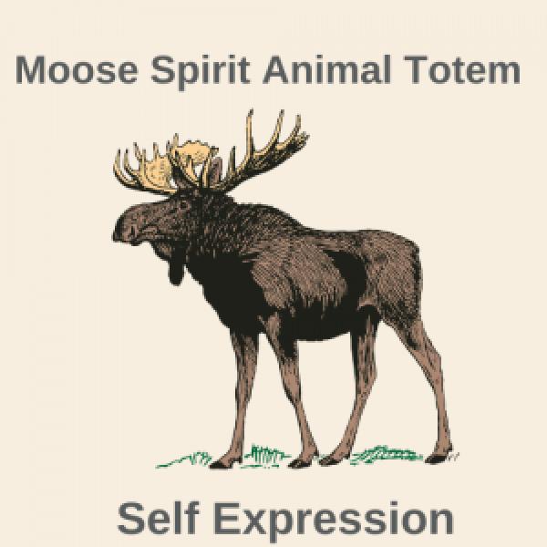 Moose Spirit Animal Totem