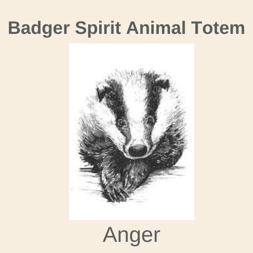 Badger Spirit Animal Totem-2